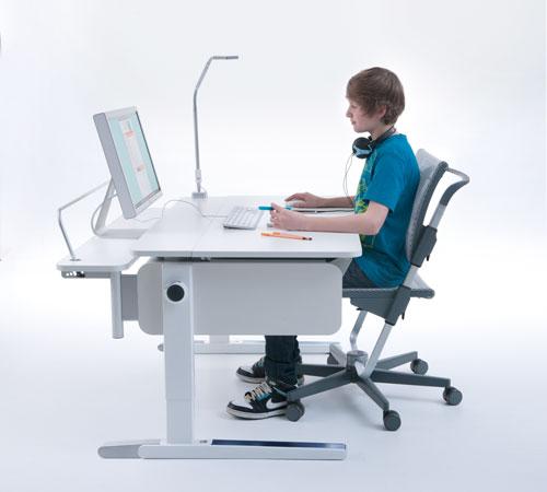 Ergonomiesches Sitzen am Computer