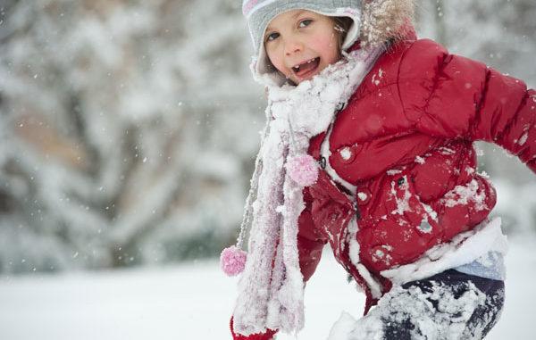 """Kids """"sicher"""" im Schnee"""