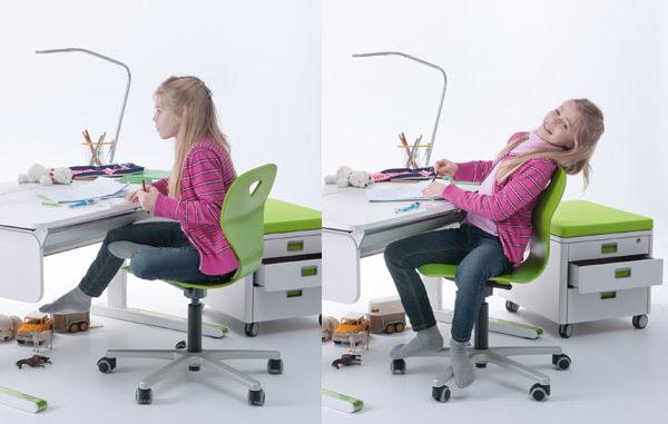 richtig sitzen, Rücken schonen, Wirbelsäule