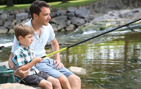 See, Wasser, Sommer, fischen