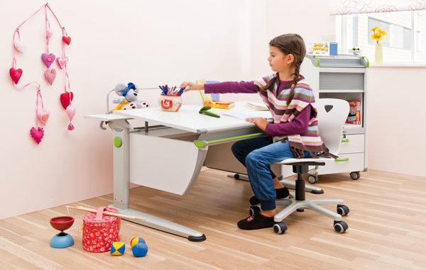 richtig sitzen, Lernen, Kinderzimmer