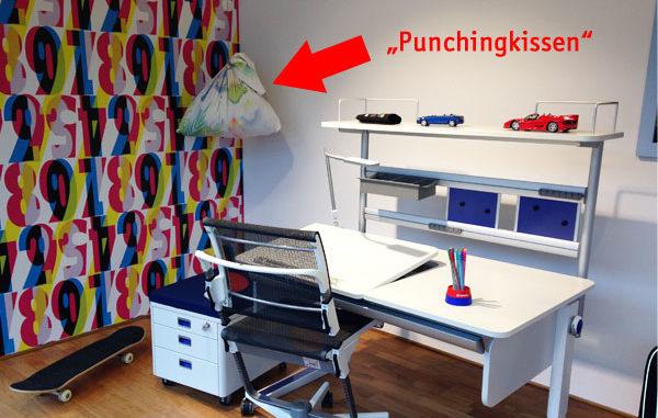 Schreibtischkombination, Lernplatz