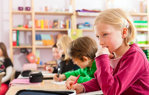 Lehrer - Schüler - Schreibtisch - mitwachsender Kinderschreibtisch