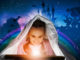 Lesen, Kinder, Märchen-Tag, Beleuchtung