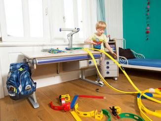 moll, Kinderzimmer, Gesundes Lernen, Kinderschreibtisch, Kinderdrehstuhl