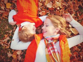 Glücksmomente mit Kindern